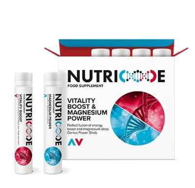 NUTRICODE VITALITY BOOST & MAGNESIUM POWER